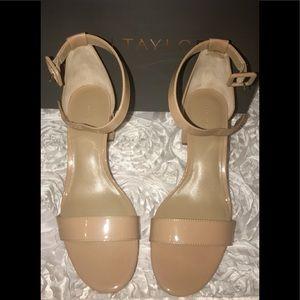Ann Taylor block heel